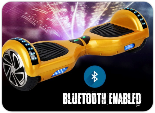 H6 Eco Yellow Hoverboard Auto Balance
