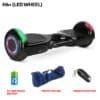 H6+ Jet Black Hoverboard