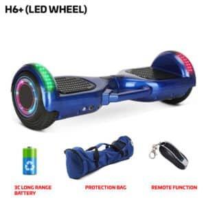 H6+Blue Hoverboard