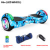 H6+ Blue Military Hoverboard