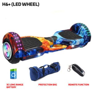 H6+ Cool Fire Hoverboard