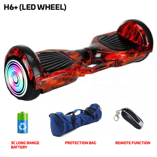 H6+ Redfire Hoverboard