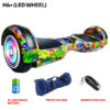 H6+ (LED WHEEL) Rainbow Hoverboard