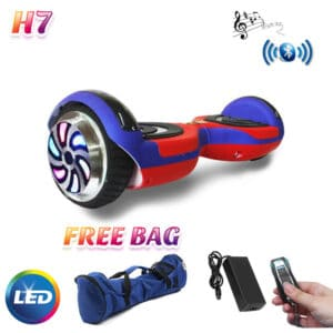 red blue hoverboard india 6.5inch