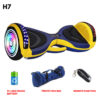 H7 yellow colour hoverboard