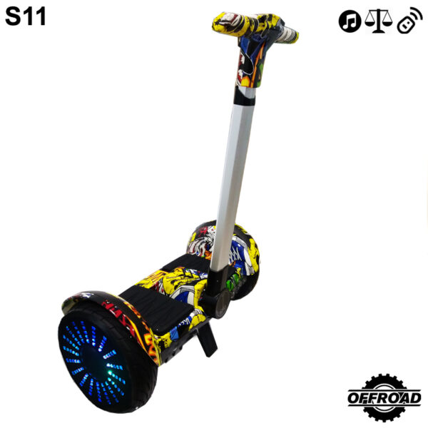 S11 Miniseg Skullcandy with Handle Hoverboard