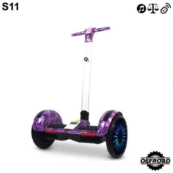 S11 Miniseg Universe with Handle Hoverboard
