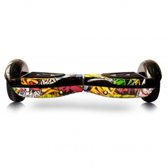 h7 yellow printed hoverboard