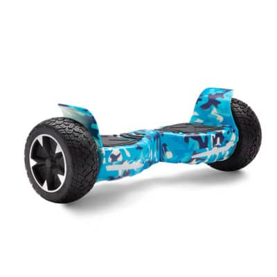 blue military printed hummer off-road all terrain hoverboard hoverpro