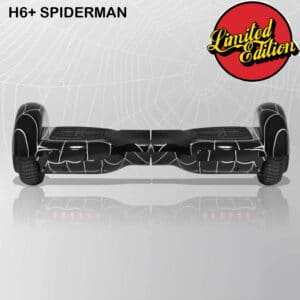 black spider printed hoverboard in india