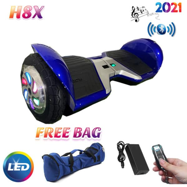 latest blue 2021 hoverboard