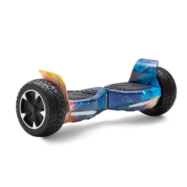 galaxy blue printed hummer off-road all terrain hoverboard hoverpro