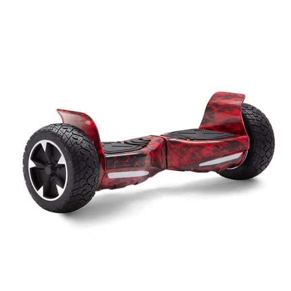 red fire printed hummer off-road all terrain hoverboard hoverpro