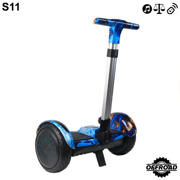 mini segway with handle hoverboard
