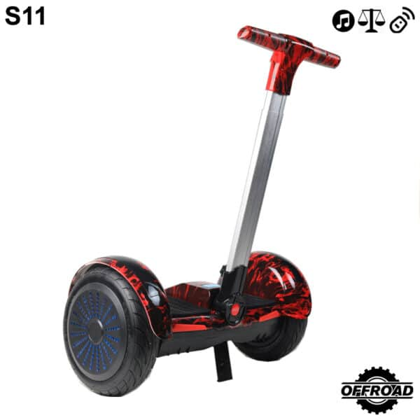 s11 red fire segway
